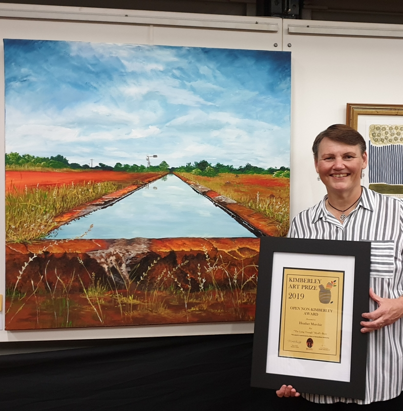 Kimberley Art Prize – 1st prize in the open non-kimberley section